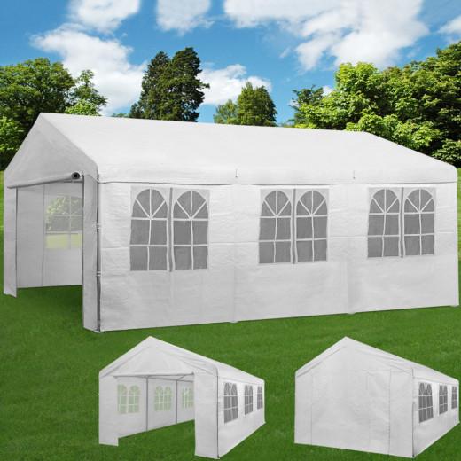 - Kein Hersteller - Festzelt Weiß 3x6x2,85m